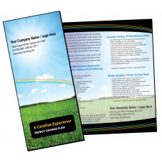 HVAC Maintenance Agreement Sales Brochure #1