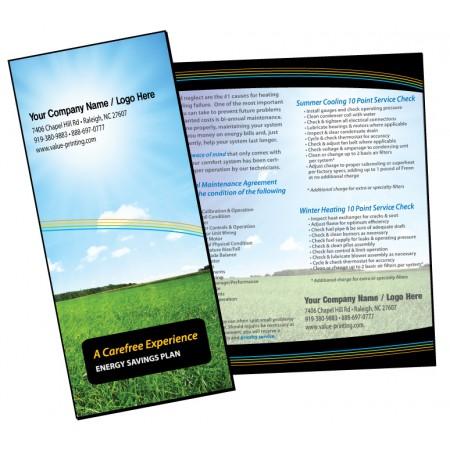 HVAC Maintenance Agreement Sales Brochure #1