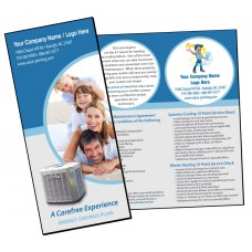 HVAC Maintenance Agreement Sales Brochure #2