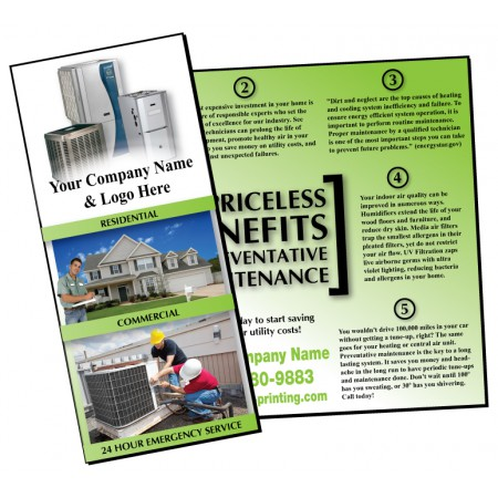 HVAC Preventative Maintenance Brochure #4