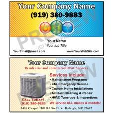 HVAC Business Card #3
