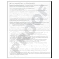 HV-1035C HVAC Maintenance Agreement Digital for Tablets