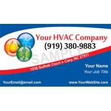 HVAC Business Card Magnet #1
