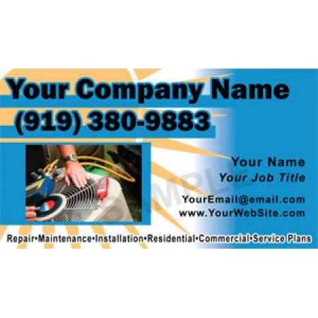 HVAC Business Card Magnet #10