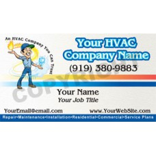 HVAC Business Card Magnet #13