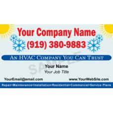 HVAC Business Card Magnet #9