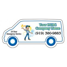 HVAC Van Shaped Magnet #3 (Large)