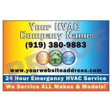 HVAC Vehicle Magnet #2