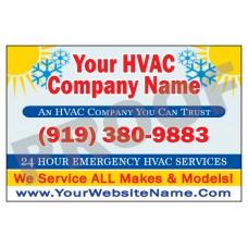 HVAC Vehicle Magnet #4
