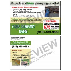 Gutter Cleaning Postcard #2
