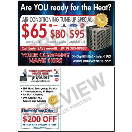 HVAC Tune-Up Postcard #14 (Spring / AC)