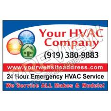 HVAC Yard Sign #1