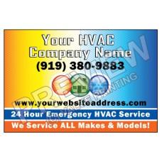 HVAC Yard Sign #2
