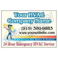 HVAC Yard Sign #3