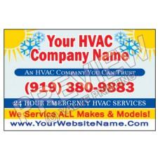 HVAC Yard Sign #4