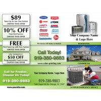 HVAC Preventative Maintenance Brochure Flier #4