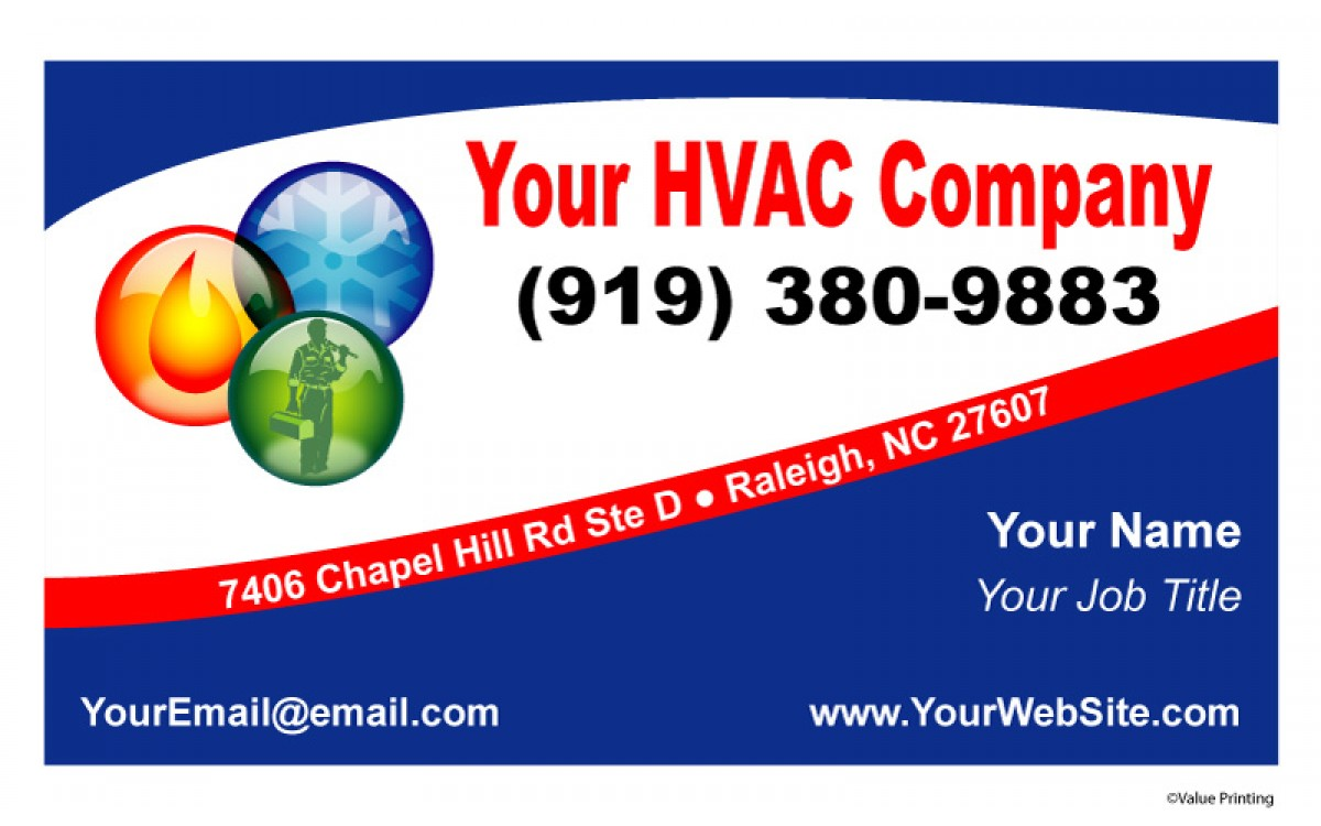 The Best Paper Options for HVAC Business Cards