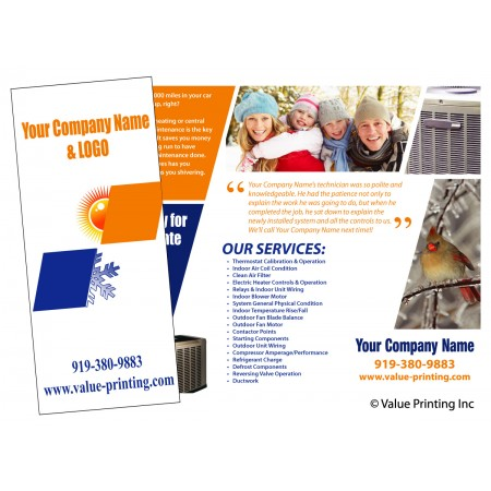 HVAC Sale Brochure Flier #5