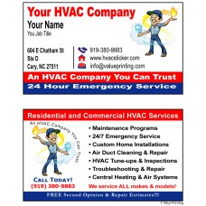 HVAC Business Card #18