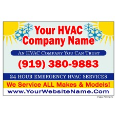 HVAC Vehicle Magnet #4