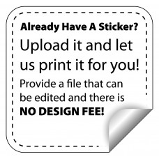 Print Your Exisiting Weatherproof Label Stickers