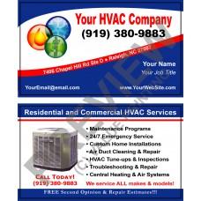 HVAC Business Card #1