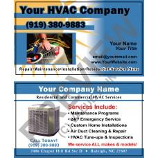 HVAC Business Card #10