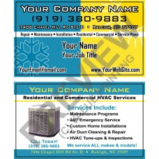 HVAC Business Card #11