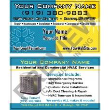 HVAC Business Card #11