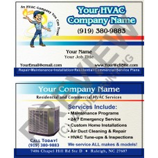 HVAC Business Card #13