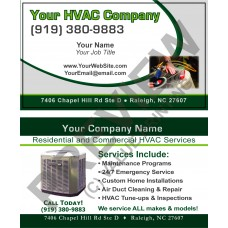 HVAC Business Card #4