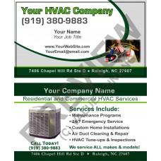 HVAC Business Card #4