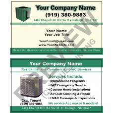 HVAC Business Card #8