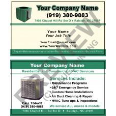 HVAC Business Card #8