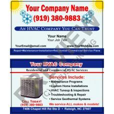 HVAC Business Card #9