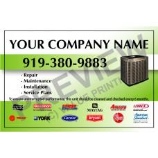 HVAC Service Call Sticker #20 (4.25x2.75)
