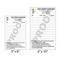 Large Indoor Furnace Note Sticker